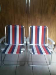 Cadeiras de praia novas cor especial do Bahia