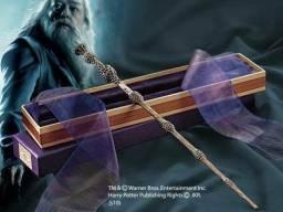 Varinha Alvo Dumbledore Noble Collection edição luxo