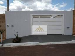Casa com 2 dormitórios à venda, 46 m² por R$ 176.000,00 - Jardim Cristo Redentor - Ribeirã