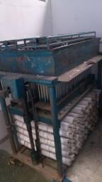Maquina fabricar vela palito com fogão industrial 3 bocas