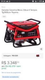 Gerador gasolina toyama TG3100cxv