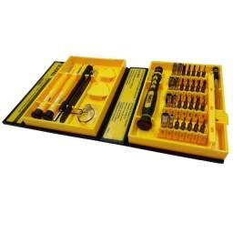 Kit de ferramentas chave com 36 peças Lelong LE- 960 celular, notebook, tablet, videogame