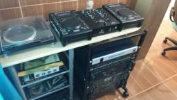 EQUIPAMENTO SOM PROFISSIONAL DJ FESTAS