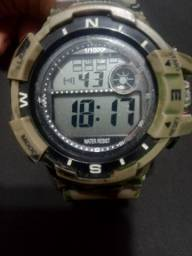 Relogio casio stainless steel back water