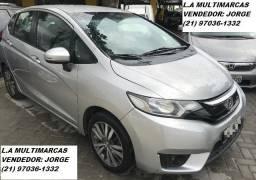 Honda Fit 1.5 Exl automático c/ multimídia e Gnv _ entrada apartir 10mil + 48x 839,00