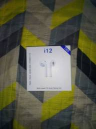 Fone de ouvido bluetooth na caixa