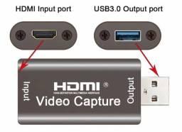 Placa De Captura Hdmi 1080p Full Hd Para Usb 3.0