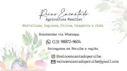 Produtos orgânicos - Reino Encantado Peruíbe