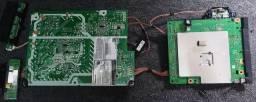 Panasonic Tc 40fs600b Placas da fonte Tnp4g628 e placa lógica Tnp4g603 bk