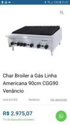 Char broiler venancio 90 cm