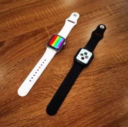 """Relógio inteligente smartwatch IWO série 6 ORIGINAL tela infinita 1.75"""" a pronta entrega!"""