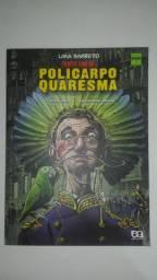 """Livro """"Policarpo Quaresma"""" em HQ"""