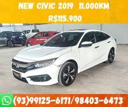 Honda New Civic Touring CVT 2019 R$115.900 Jaime( 11km) */ *