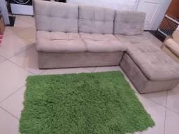 Lindo sofa seminovo so hoje 480 reais