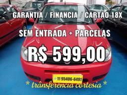 SIENA 1.0 , Sem Entrada  + Parcelas R$ 599,00