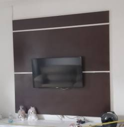Painel MDF 1,80 X 1,80 Cor Tabaco