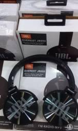 Fone de ouvido via Bluetooth da JBL