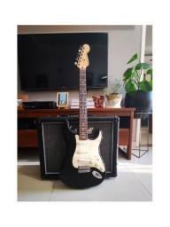 Fender Standard Stratocaster® MIM (1998), Rosewood Fingerboard, Black Standard Series<br>