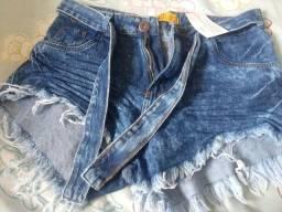 Shorte jeans (novo)