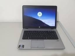 HP elitebook, tela 14'led slim qHD,Processador intel core i7,8 gb ram ddr3l e HD 500GBs
