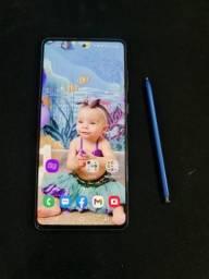 Celular Samsung Galaxy Note 10 Lite 128gb, caixa e nota fiscal