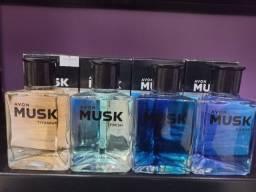 Colônia  desodorante Musk a pronta entrega
