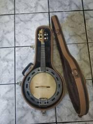 Banjo Anderson Luthier meio a meio extra luxo
