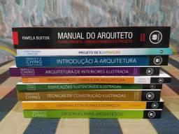 Livros Francis Ching Para Arquitetos e Urbanistas