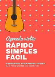 Aprenda hoje msm - violão, Guitarra e ukulele