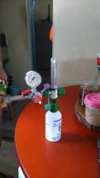 Relógio para cilindro de oxigênio  com fluxograma NOVO