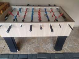Vendo mesa de pimbolim em MDF
