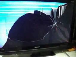 TV COM DEFEITO OU COM TELA QUEBRADA C.O.M.PRA.M.O.S