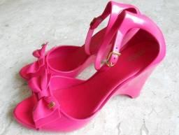 """Sandália """"Melissa"""" Mermaid Pink -  Tam 38"""