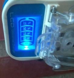 Carregador Universal Baterias De Lítio Visor Lcd Saída Usb
