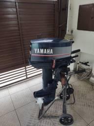 Motor de Popa 25hp Yamaha Concervado