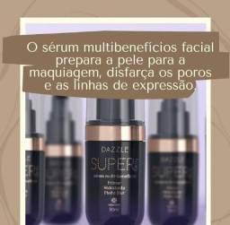 Sérum facial prepara a pele para maquiagem