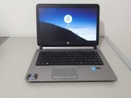 HP probook, tela 14'led slim HD,Processador intel core i5,8 gb ram ddr3l e HD 500GBs