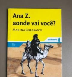Livro Ana z aonde vai vc?