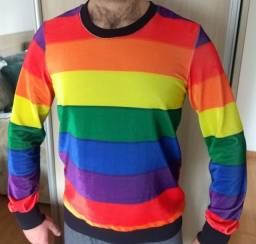 Blusão Arco-íris LGBT (M)