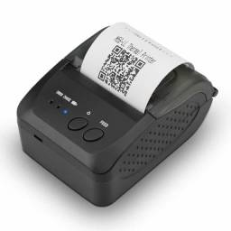 Mini Impressora Bluetooth Térmica Portátil 58mm