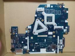 Defeito - Placa mãe Notebook Acer E5-571G-57MJ