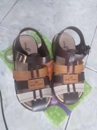 Sandalia infantil N 27 nova