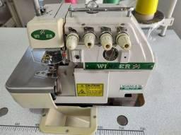 maquina de costura Overlock ponto cadeia