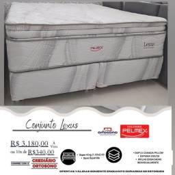 Cama super king lexus - promoção - entrega grátis garantia e nota