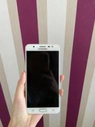 """Smartphone Samsung Galaxy J7 Prime Duos Preto com 32GB, Tela 5.5"""", Dual Chip, Câmera 13MP<br>"""