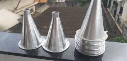 Corneta de alumínio
