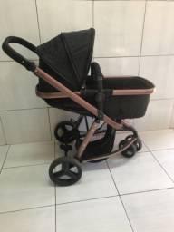Vende-se carinho de bebe + bebê conforto + base para carro , marcar GaLzerano