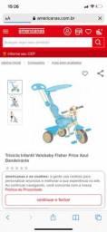 Motoca Fischer price