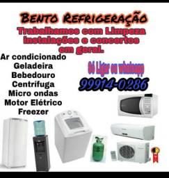Gás de geladeira a partir de 150 reais