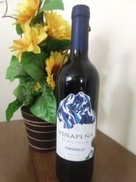 Vinho seco vinapenã/tempranillo.